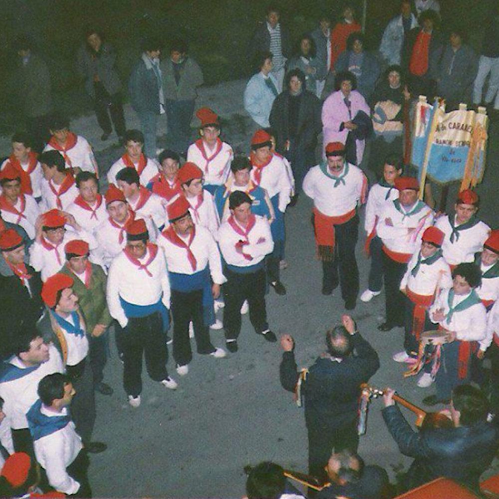 Actuació del Chor de Caramelles Ramon Sendra