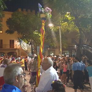 l'Esbart Dansaire al Seguici de la Festa major d'estiu 2019